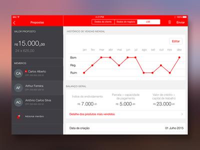 Dashboard Fintech App