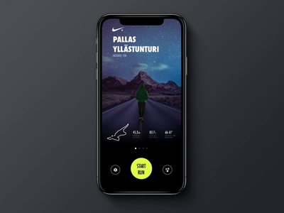 Nike+ Running - Places