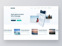 Floating elements website