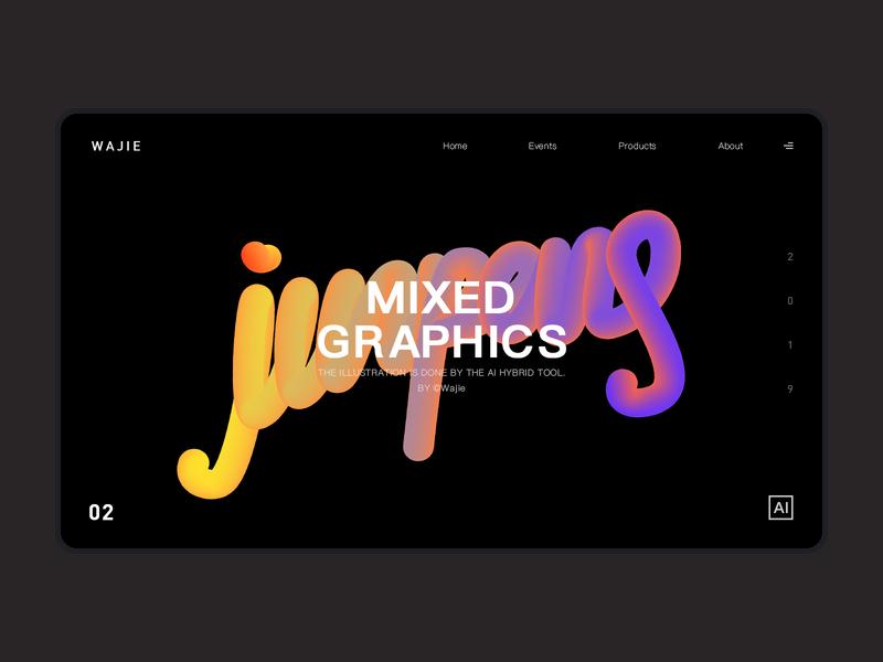 Graphic web design 实践 演习