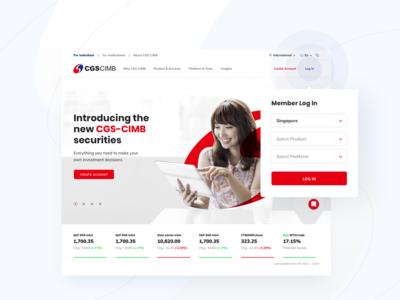 CGS-CIMB homepage