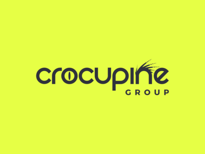 Crocupine Logo Design
