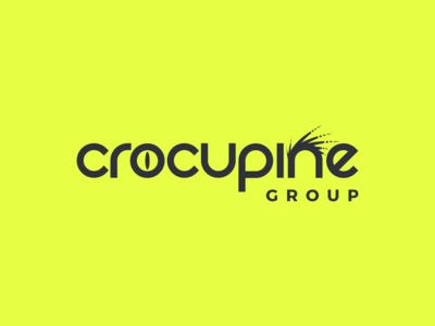 Crocupine Logo Design