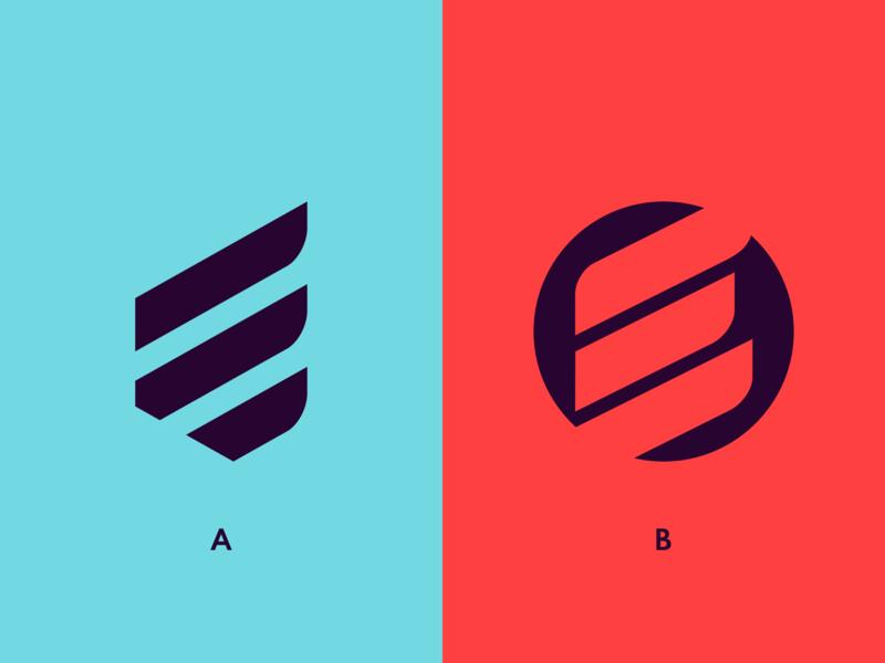 Enhanced Apparel fashion icon vector minimal flat logo design branding