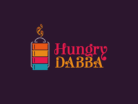 Hungry Dabba Logo Design