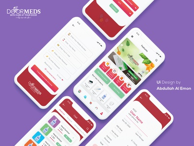 eCommerce/ Medical mobile app Ui coronavirus covid19 health doctor clinic ux branding agency app clean design ui