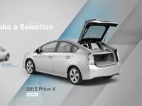 2012 Prius V Microsite