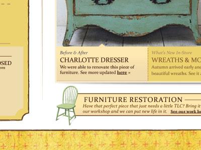 Shabby Web web design