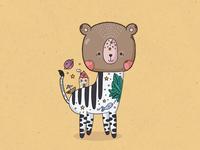 Bear/zebra