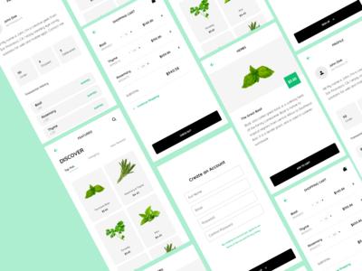 Fresh Herbs Mobile Application