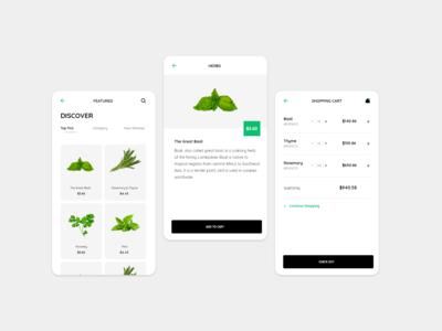 Fresh Herbs Apps