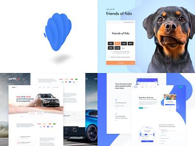 2018 illustration design platform donation revv ios app saas clean iphone ux ui