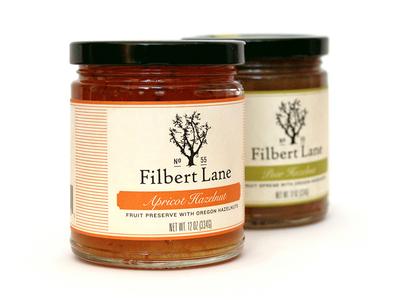 Filbert Lane Packaging label packaging logo branding