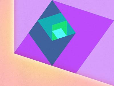 Geometry Study light shapes diamonds color geometry