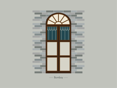 Bombay Window the window project window illustration