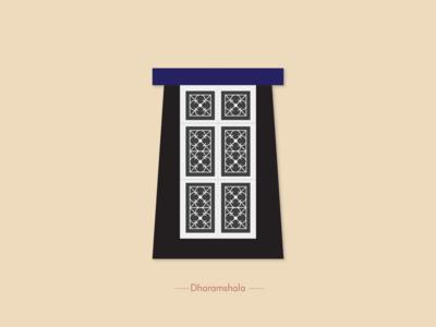 Dharamshala Window the window project window illustration