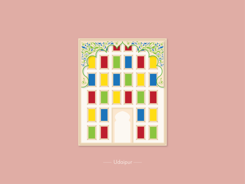 Udaipur Window the window project window illustration
