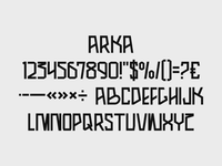 Arka Font
