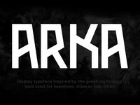 Arka Typeface