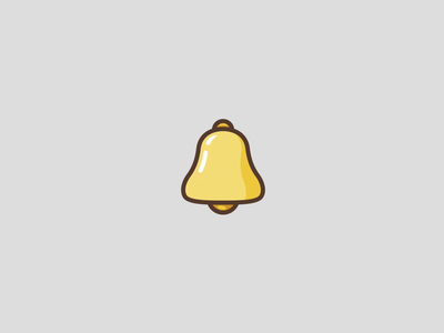 Bell Notification minimal notification bell adobe aftereffects icon motion graphics animation ui