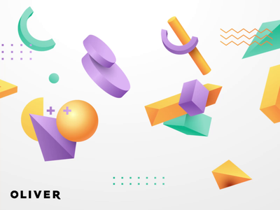 Oliver - We are Hiring graphic design motion graphics animation branding ui icon adobe aftereffects illustration flat minimal design
