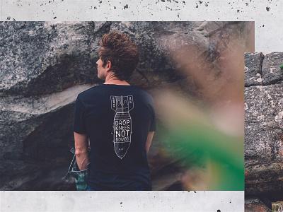 Bloc 11 - Merch limited edition rock climbing climbing shirt design shirts shirt merchandise merch vector graphic design design illustration