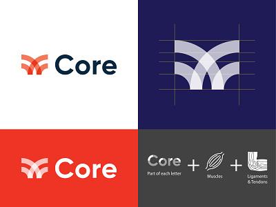 Core - breakdown icon logotype cape town vector brand graphic design branding logo identity design