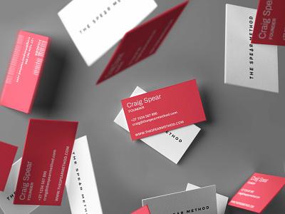 The Spear Method - Identity cape town business cards logotype vector brand graphic design branding logo identity design
