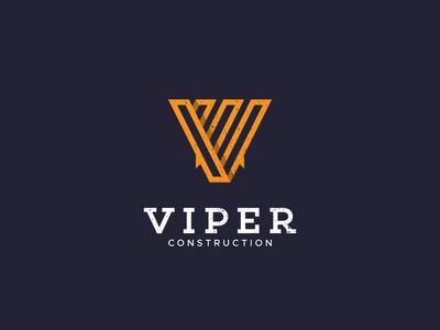 Viper Construction Logo