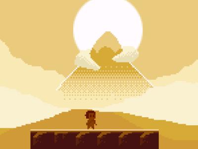 Journey ... I mean Elliot Quest elliot nes megaman zelda classic game 8bit 8-bit pixel