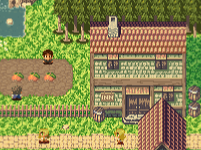 RPG Pixel Art by Luis Zuno on Dribbble