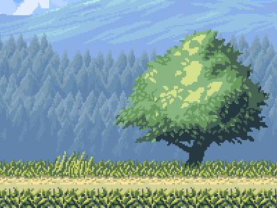 Country Platform Tileset tile-set video game pixel art pixels tile background