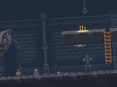 Magic Castle Tile Set tile set tile map art assets pixel art texture game metroidvania