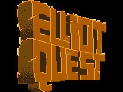 Elliot Quest Title video game indie game game zelda indie