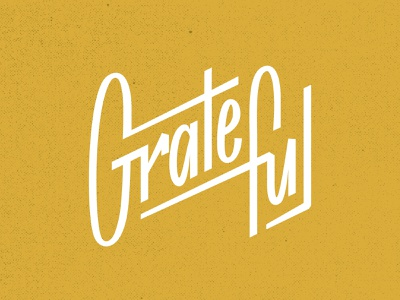 Grateful lettermark letters custom lettering customtype hand letters hand letteri hand typography logo lettering