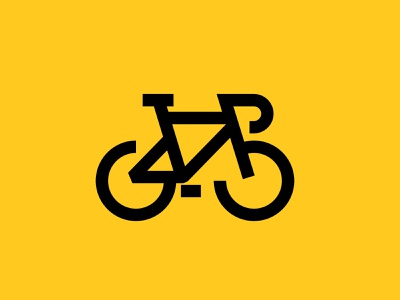 Bike logo drawing illustration identity bike ride monoline vector icon design design graphic icon bike