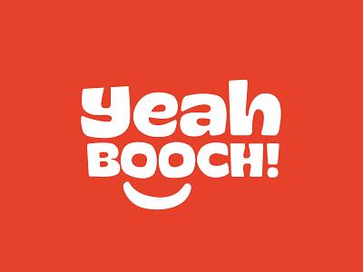 YeahBooch Logo mark lettering typography letterforms handlettering wordmark identity branding design logo