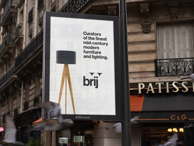 Brij Signage furniture urban signs signage identity branding design logo