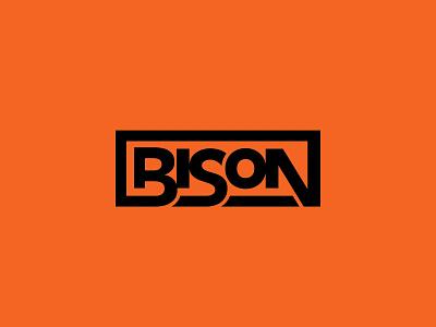 Bison Wordmark custom lettering bison lettering letterforms wordmark typography identity branding logo