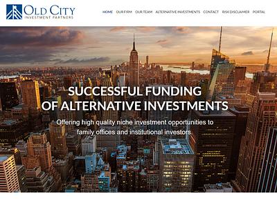 Old City Investment Partners Website websites web design