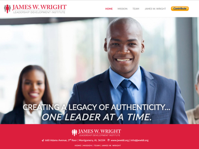 James W. Wright LDI Landing Page landing pages web design