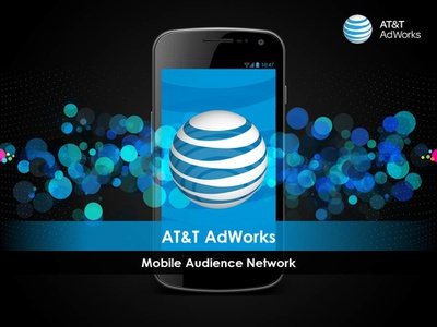 Animated Screen for AT&T AdWorks after effects motion graphics photoshop graphic design