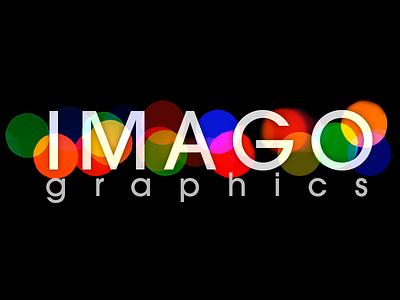 IMAGO Graphics Logo branding typography graphic  design photoshop logo design