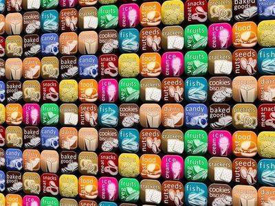 Collage of UI Icons for PepsiCo International icon design graphic design photoshop
