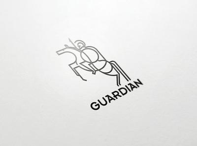 Guardian branding icon design logo