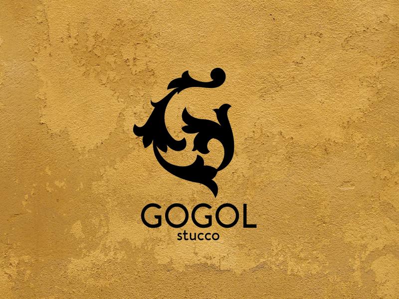 Stucco branding icon design logo