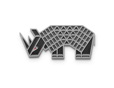 Rhino branding icon design logo