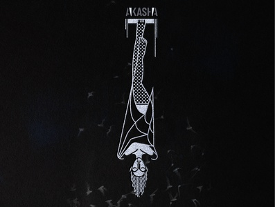 Akasha branding icon design logo