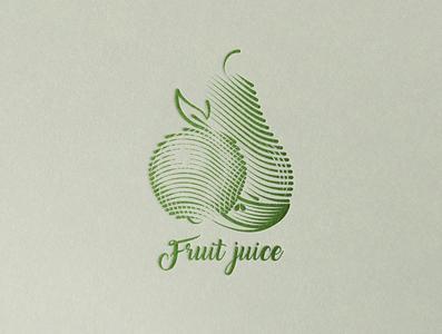 Juice branding icon design logo
