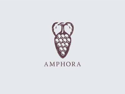 Amphora branding design logo icon